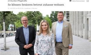 Pflegehelden Düsseldorf - So Können Senioren betreut zuhause wohnen